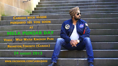 Jassi Jasraj at Mela Punjab Day 24th August 2013