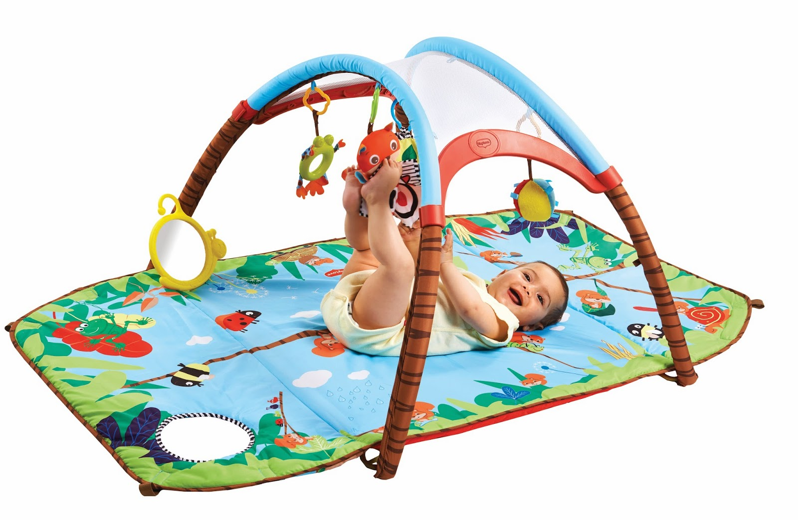 Captivating Tiny Love Gymini Developlace Play Mat Review + Giveaway {$80 ARV}