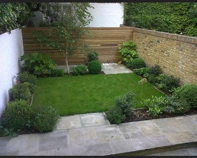 Taman depan rumah minimalis sederhana