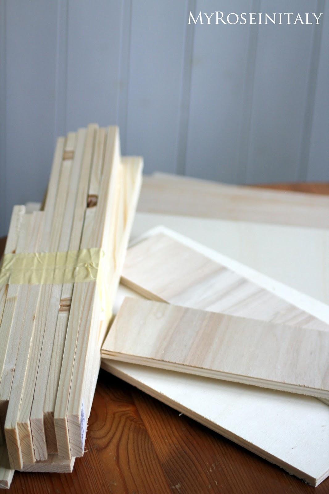 My roseinitaly cassette i in legno fai da te - Fai da te verniciare finestre legno ...