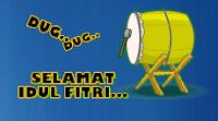Widget Selamat Idul Fitri 1432 Hijriah