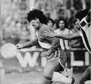 Debut de Diego Armando Maradona