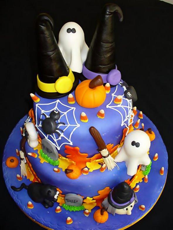 halloween cakes design