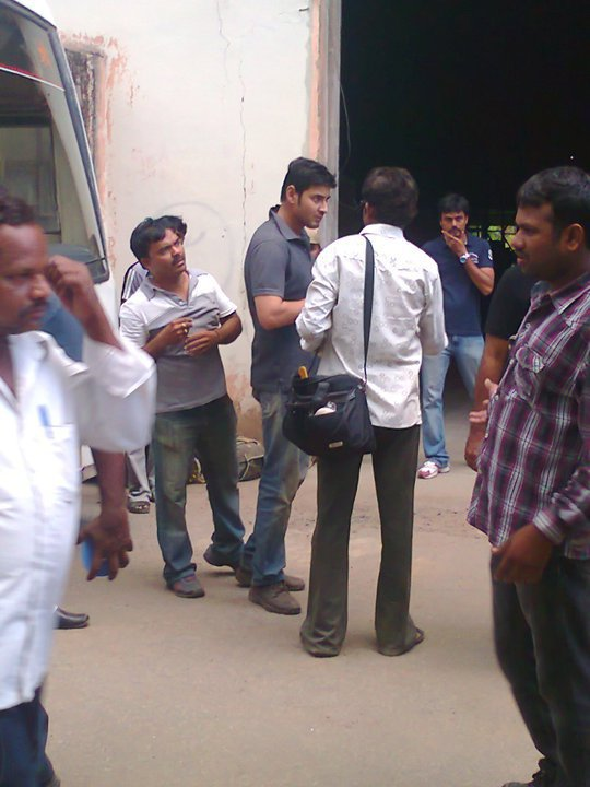 Mahesh Dhookudu Working Still.....New One | powered by www.HeyANDHRA.in