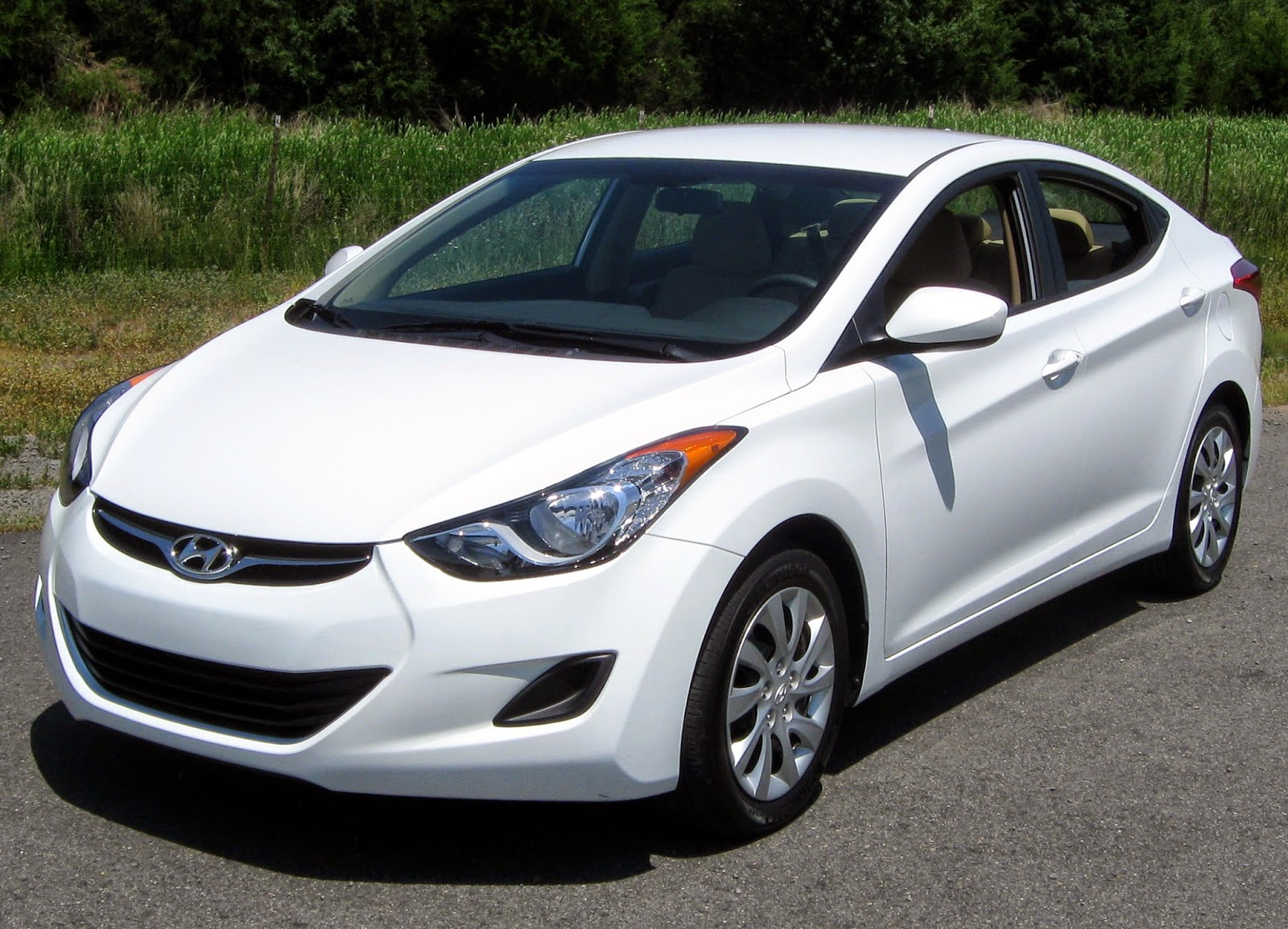 The Hyundai Elantra was crowned North American Car of the Year at the 2012 Detroit Auto Show.