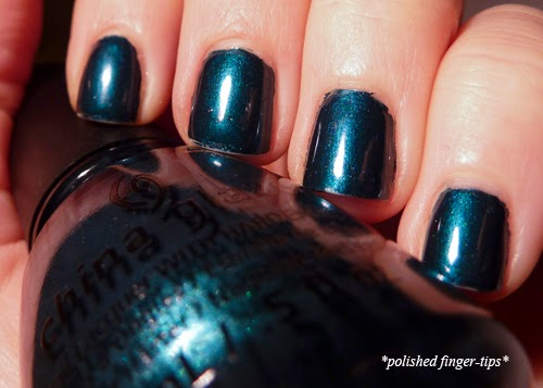 Tongue and Chic by China Glaze - artificial light