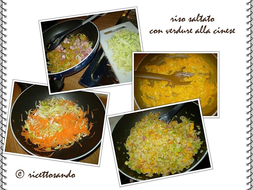 Riso saltato con verdura ricetta di riso strapazziamo a parte le uova