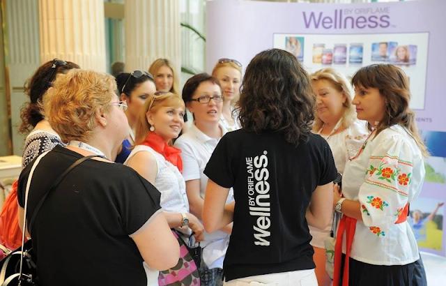 Partilhe os benefícios dos Batidos Wellness by Oriflame