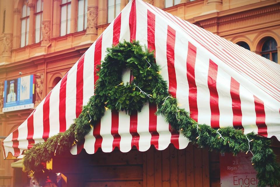 рождественская рига