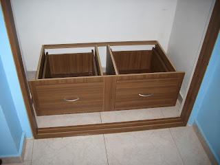 Mis trabajos en madera julio 2013 for Closet de madera para zapatos