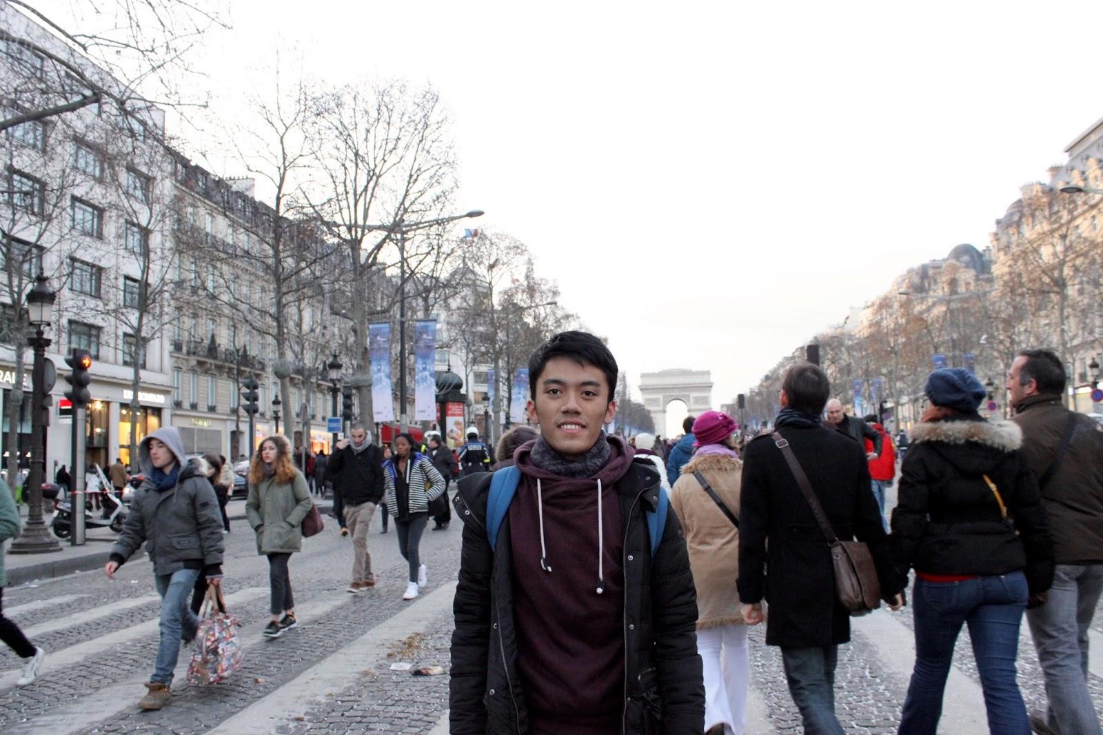 Jalan-Jalan di Paris - Champs-Élysées-2