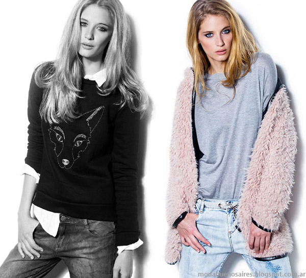 Koxis otoño invierno 2014 moda casual urbana otoño invierno 2014.