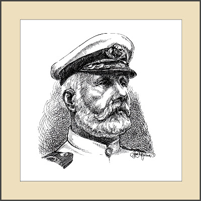 capitaine du Titanic Edward John Smith