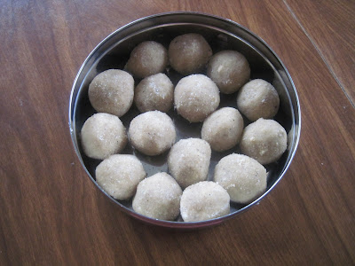 Rava Ladu is diwali sweet