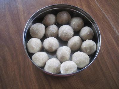 Rava Ladu is diwali sweet