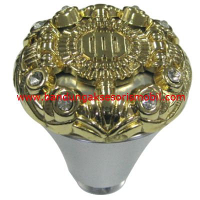Gear Knob DAD Medium Silver Berlian Gold