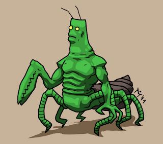 Hmyzák.
