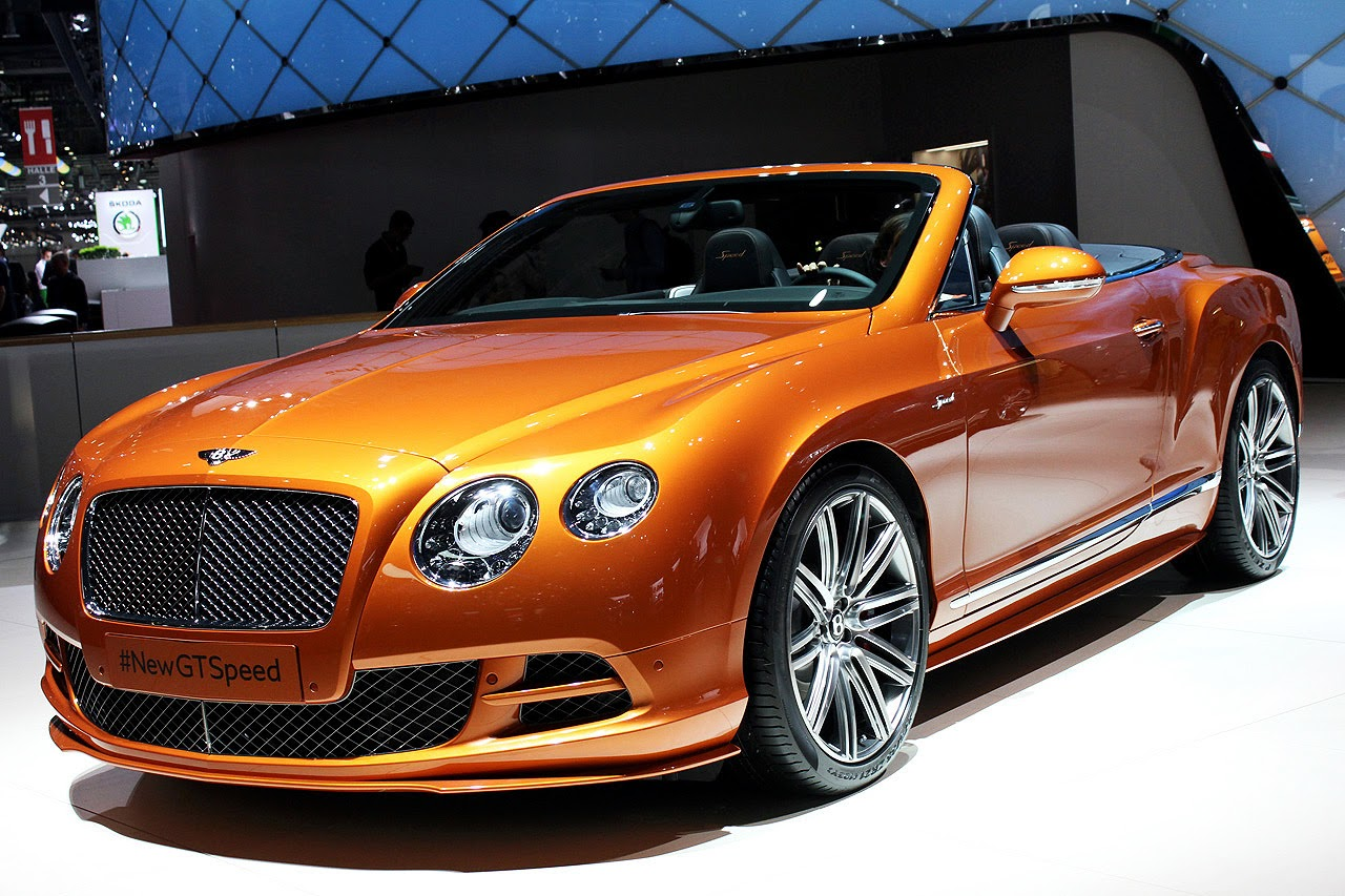 automotiveblogz 2014 bentley continental gt speed convertible geneva 2014 photos. Black Bedroom Furniture Sets. Home Design Ideas