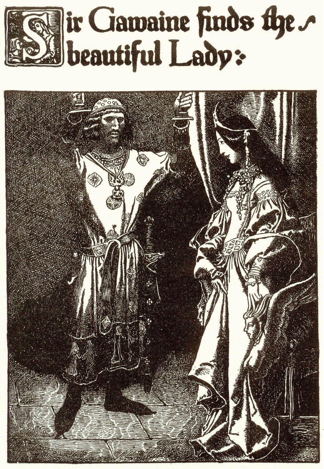 sir gawain and women treatment The romance of sir gawain and the carle of carlisle demonstrates gawain's surpassing chivalry in what seems a most unlikely setting, a carl's castle carl (from old norse) means simply man.