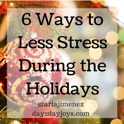 Managing holiday stress. Holidays drive me crazy.