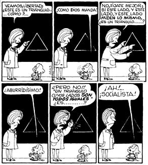 MAFALDA Y LAS MATEMÁTICAS