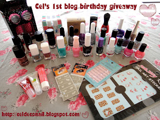 First Blog Birthday Giveaway