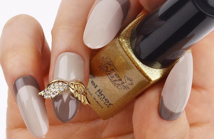 Nail design jewelry Beautify themselves with sweet nails