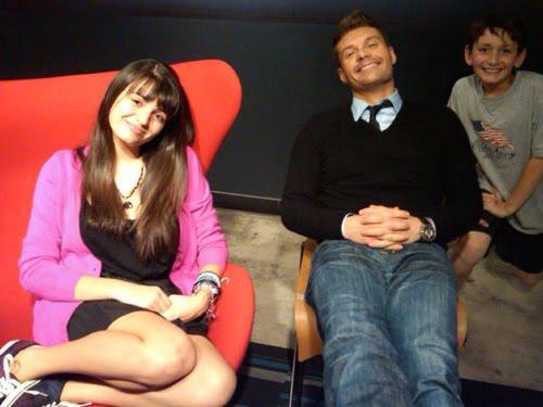 ryan seacrest rebecca black. Apr 02, 2011 · Ryan Seacrest helps Rebecca Black