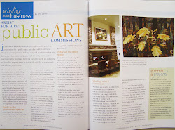 Read about my public commissions in the Feb/Mar 2013 Quilting Arts magazine