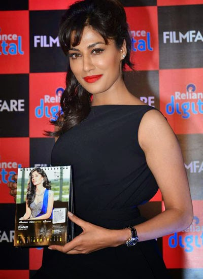 Chitrangada Singh launches Reliance Digital Filmfare Calendar at Auriga Restaurant in Mumbai