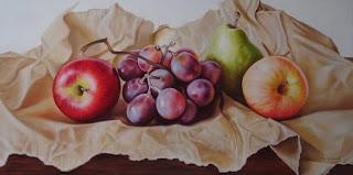 Bodegones Flores Silvestres Frutas