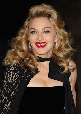 Madonna Long Curls Hairstyle