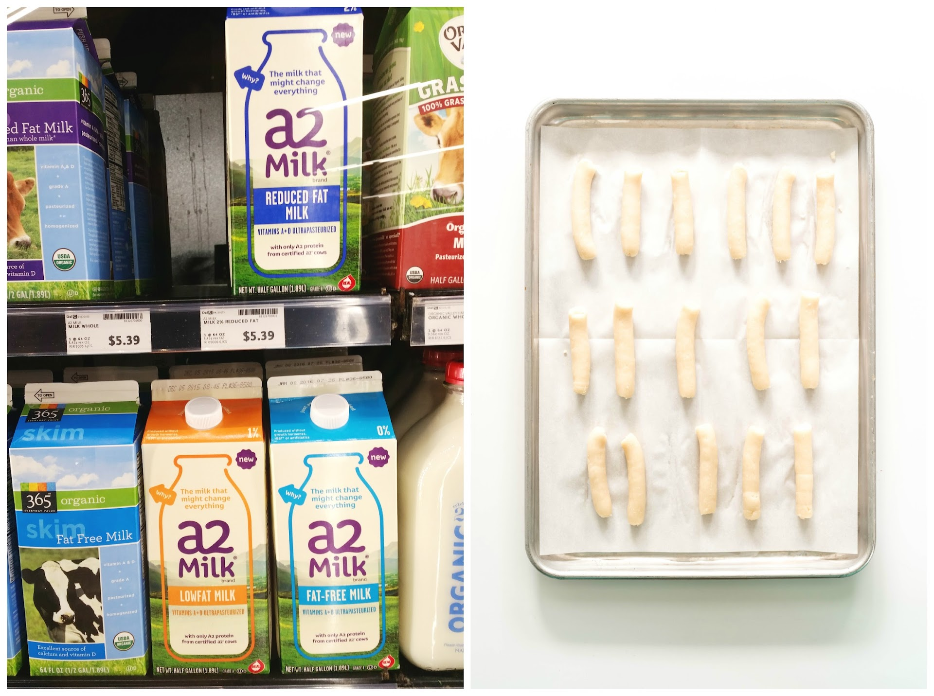 a2 milk review, a1 protein, pd3, dairy free, post dairy digestive disorder foods, whole foods dairy free products