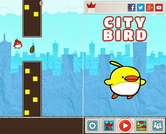 Download City Bird - Flappy Flyer