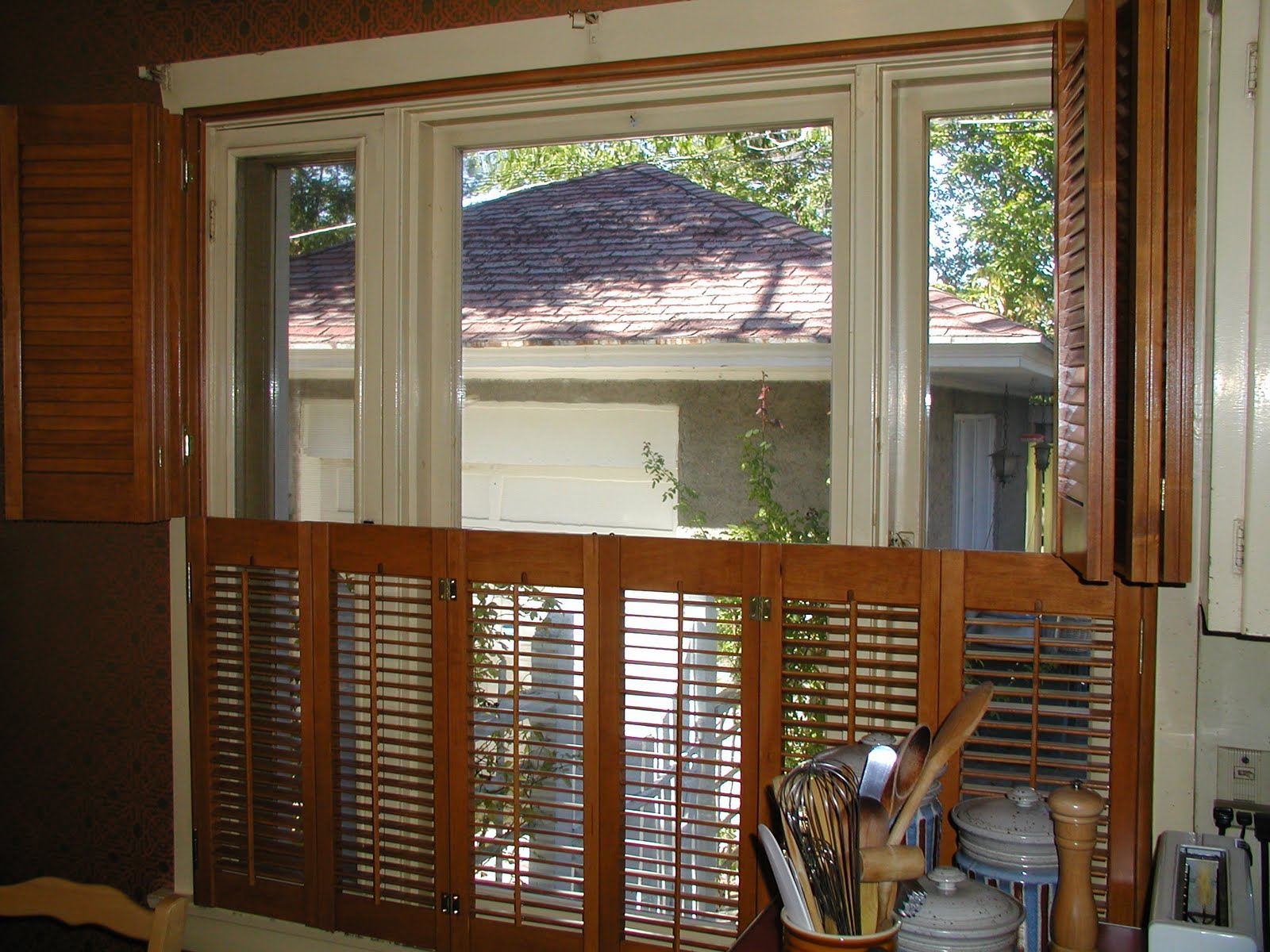 Double Hung Shutters : Stanfield shutter co your grandparents shutters a