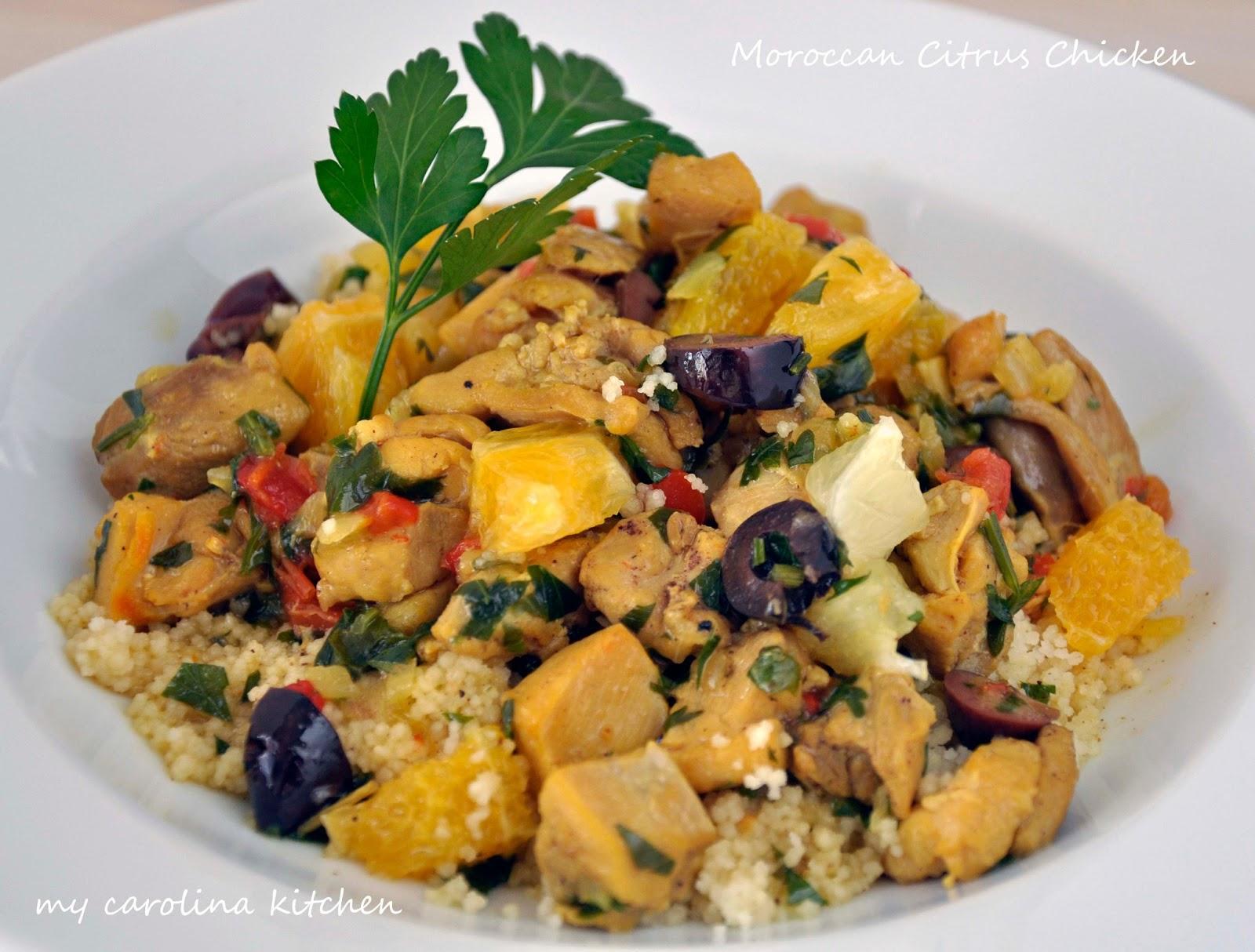 My Carolina Kitchen: Moroccan Chicken Stew