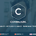Consilium Multi Styled & Multipurpose WP Theme