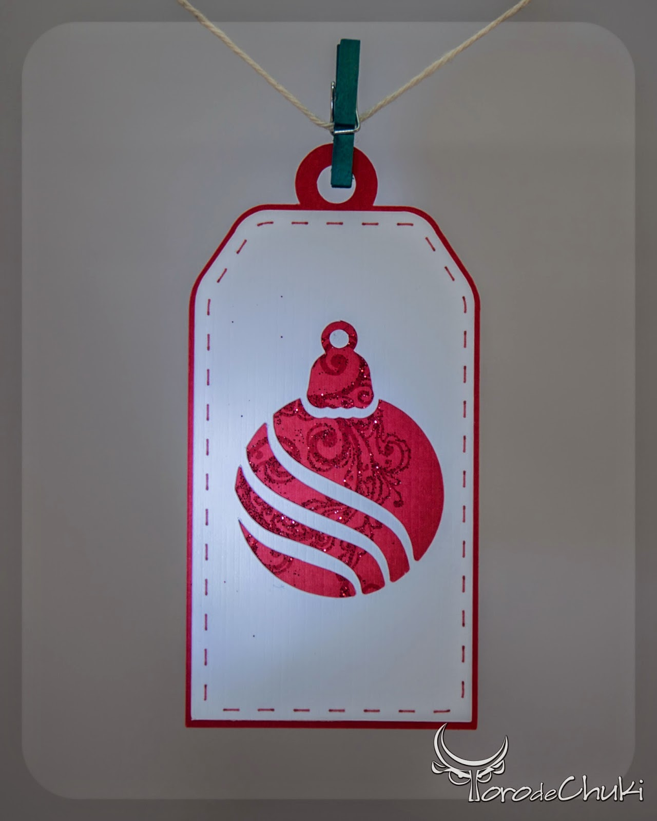 Day 8  Christmas Ornaments Gift Tags, 2014 Christmas Series