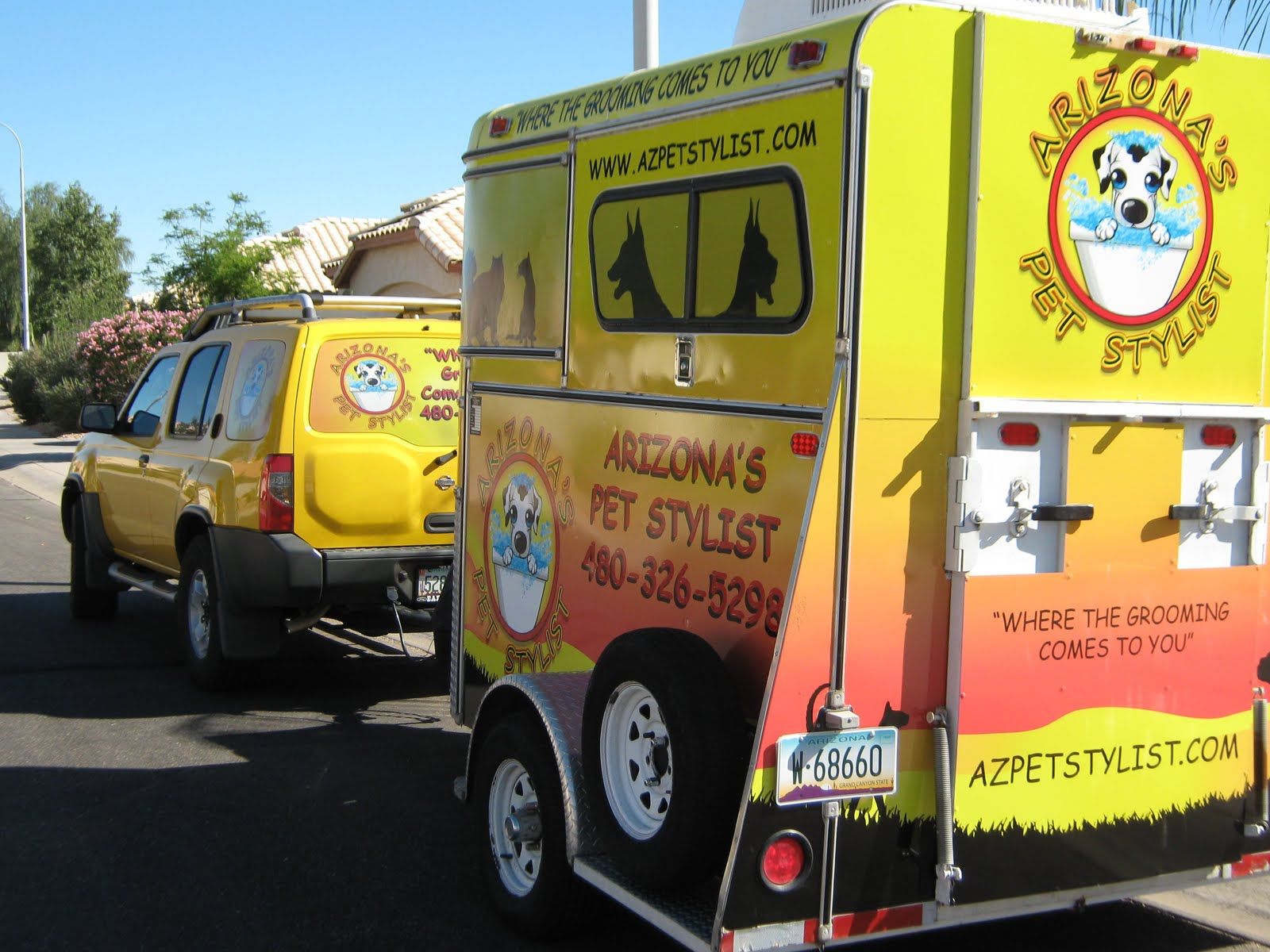 Mobile Dog Grooming Scottsdale