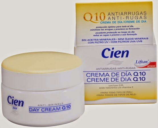 crema Cien Q10 antiarrugas de Lidl