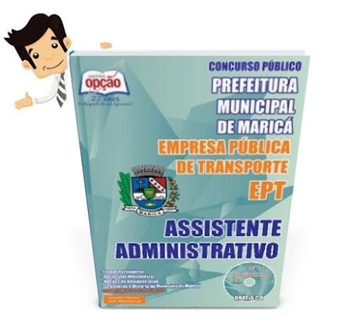 Apostila Concurso EPT Maricá 2015 - Assistente Administrativo