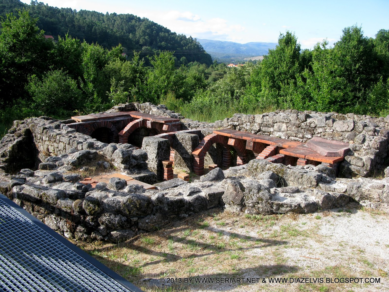 Baños Romanos De Bande:Romano de Aquis Originis – Fontes Termais e Área de Baño de