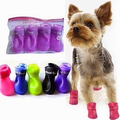botas de agua para perros, ropa para perros, disfraces para perros, accesorios para perros