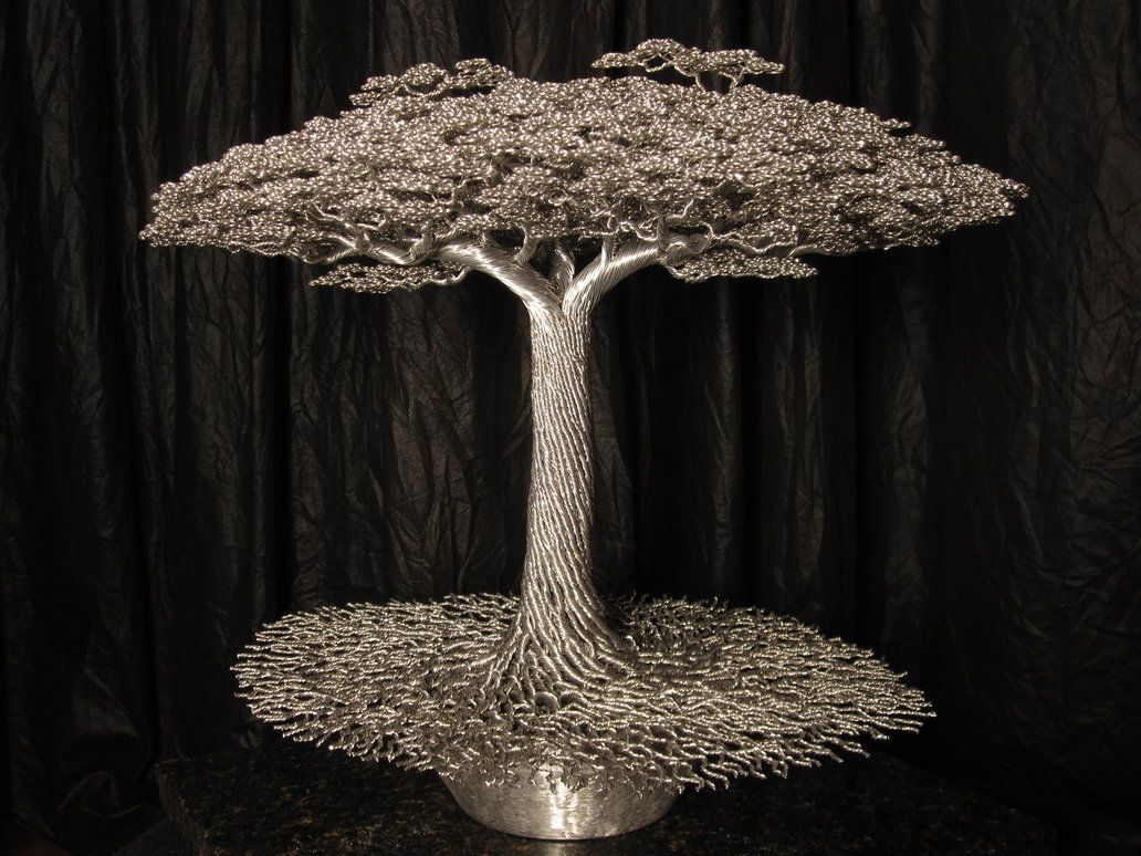 Simply Creative Wire Sculpture Bonsai Tree By Kevin Iris