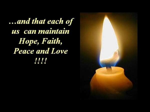 Hope, Faith, Peace and Love