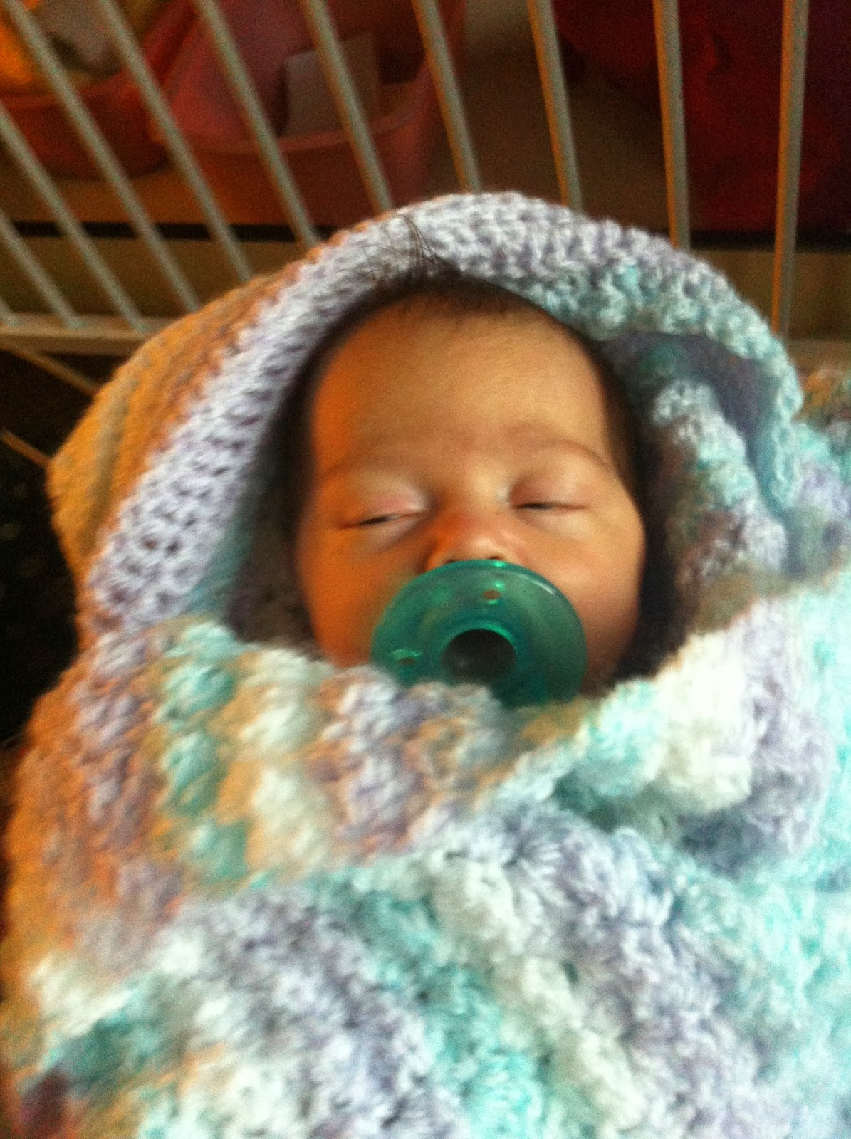 Crochet Hooded Baby Blanket - Free Pattern | Not My Nana\'s Crochet!