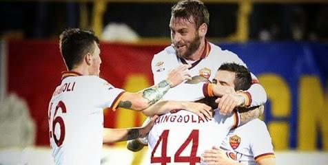 Radja Nainggolan Bawa Roma Tekuk Bologna - Roma meraih kemenangan 1-0 di kandang Bologna © AS Roma