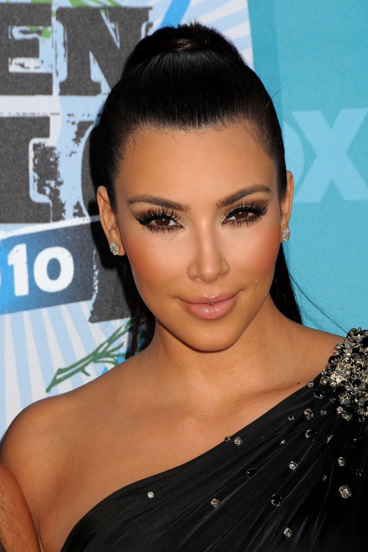 Kim Kardashian Ponytail Hair 03