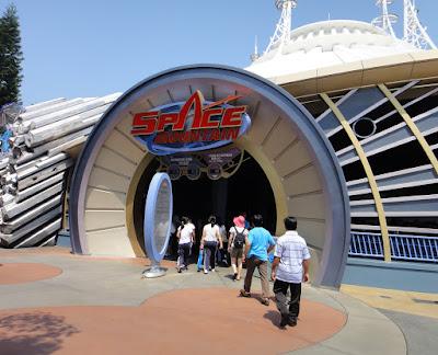 Space Mountain at Hong Kong Disneyland Resort