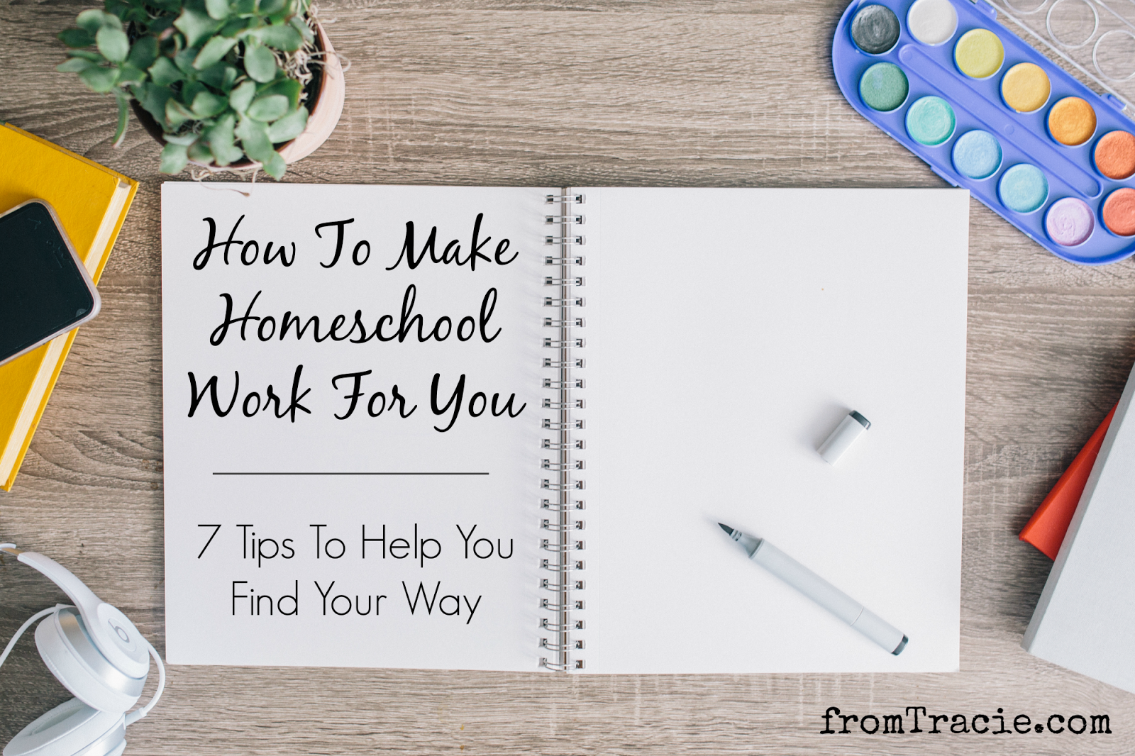 Learn how to make homeschool work for your family.